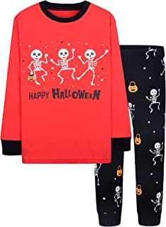 18 Months-12 Years Boys & Girls Halloween Pajamas Toddler...