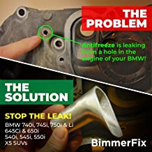 BMW N62 Coolant Pipe Repair System by BimmerFix (For BMW 545i, 645i, 745i, X5 and more)