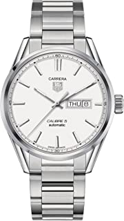 Carrera Automatic Silver Dial Stainless Steel Mens Watch WAR201BBA0723
