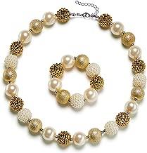 gold bubblegum necklace