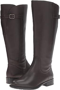 Dark Brown Wide Leather