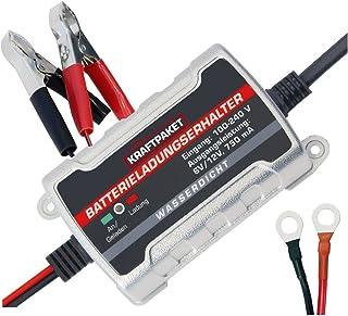 Dino KRAFTPAKET 750mAh-6V/12V Erhaltungsladegerät Batterieladegerät IP65 für KFZ Auto Motorrard Quad ATV Boot preisvergleich preisvergleich bei bike-lab.eu