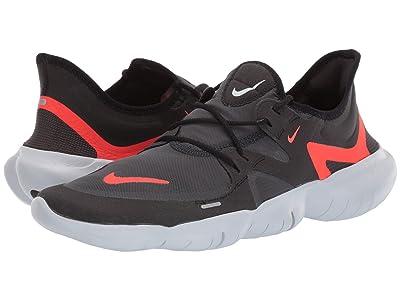 Nike Free RN 5.0 (Black/Bright Crimson/Anthracite) Men