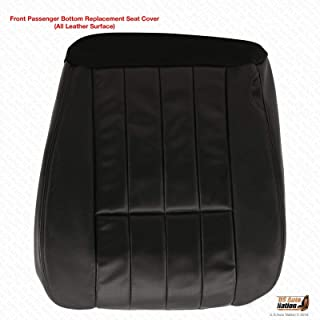 US Auto Nation 2005-2007 Fits Ford F-250 Harley Davidson Passenger Bottom Leather Seat Cover Black