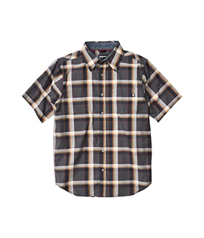 Marmot Meeker Short Sleeve Shirt (Dark Steel) Men