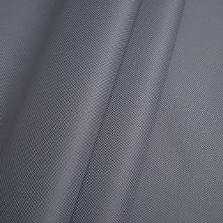 Erstklassiger Polyester Oxford 250D 1lfm - Wasserabweisend, Winddicht, Outdoor Stoff, Gartenmöbel Stoff Grau