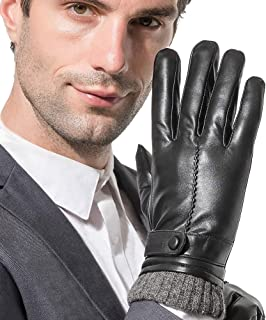 Best mens quality leather gloves Reviews