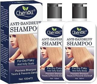 Anti-Dandruff Shampoo, Psoriasis Shampoo, Treats & Prevents Dandruff, Healthy Scalp Treatment, For Dry Flaky and Itchy Scalp, Daily Use Hair Treatment,2pcs