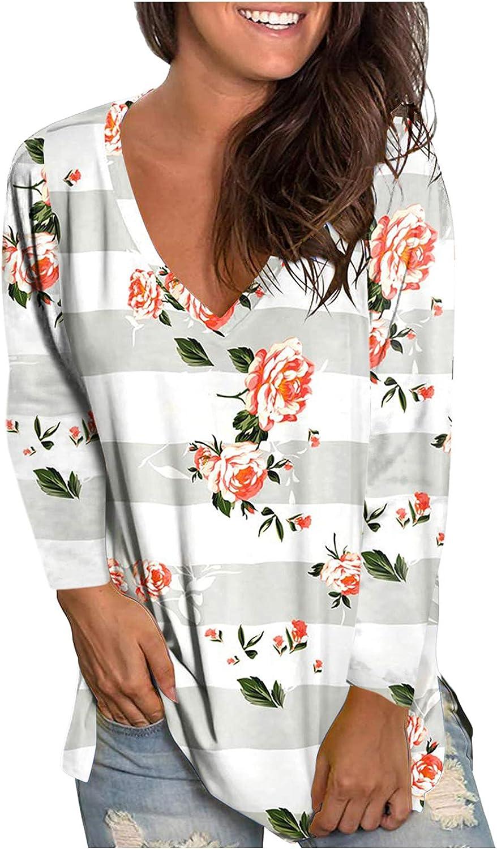 Tie Dye Sweatshirts Women,Women Crewneck Sweatshirts Long Sleeve Flower Printed Tops Casual Autumn Blouses Pullover