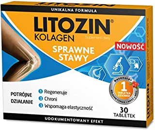 2 x LITOZIN Collagen 30 TABS - Total 60 TABS