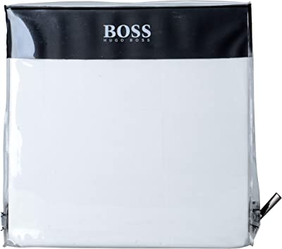 Hugo Boss White King Sham Pillowcase