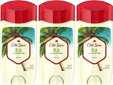Old Spice Aluminum Free Deodorant for Men, Fresher Fiji Scent, 3.0 Ounce, 3 Count