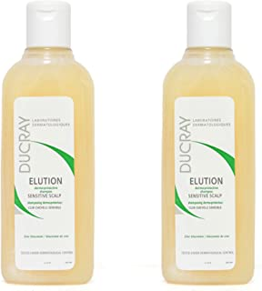 Ducray Elution dermo-protective Shampoo for Sensitive Scalp - Pack of 2, 115ml each