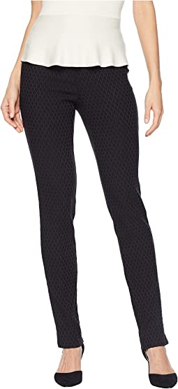 Cable Print Jacquard Slim Pants