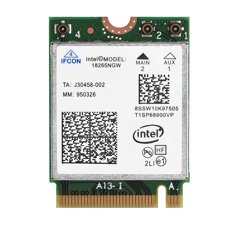 翻訳する松の木障害者VBESTLIFE ワイヤレス ネットワークカードモジュール NGFF / M2 2.4GHz + 5GHz 867Mbpsネットワークカード Intel 18265NWG対応