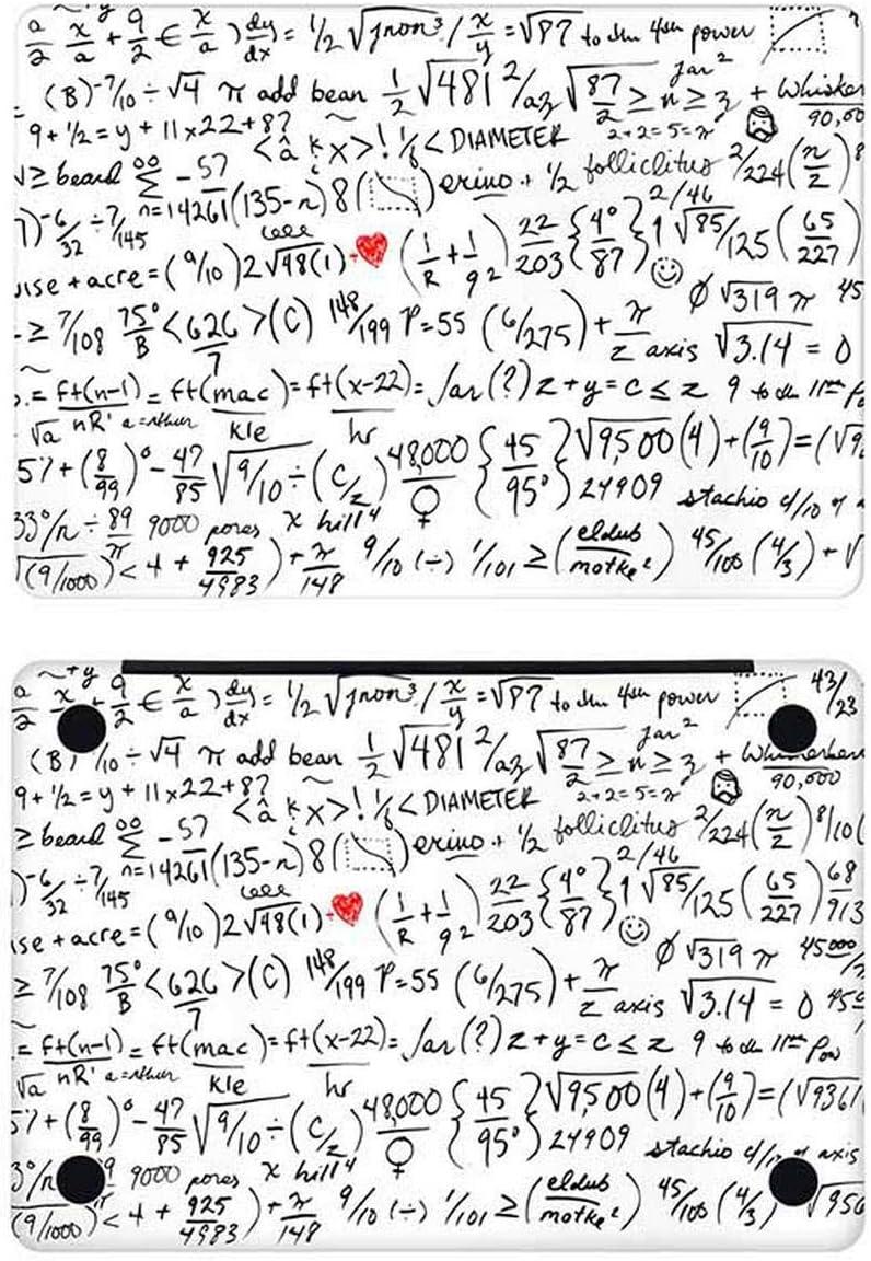 Math Physical Formula Scrawl Laptop Sticker for Apple MacBook Pro 16 Air Retina 11 12 13 15 inch Mac Book Decal Full Cover Skin-A Side-Pro 15 inch A1286