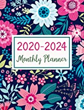 2020-2024 Monthly Planner: Five Years Monthly Planner (60 Months Calendar) For To Do List Journal Notebook | Academic Schedule Agenda Logbook Or ... Daily Weekly & Monthly Planners Holidays)