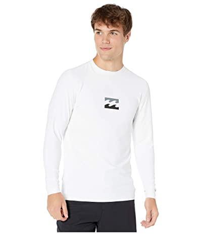 Billabong All Day Way Loose Fit Long Sleeve (White) Men
