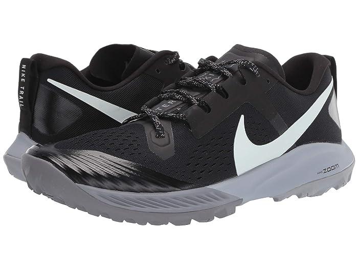 Nike Air Zoom Terra Kiger 5 (Black/Barely Grey/Gunsmoke/Wolf Grey) Men's Running Shoes