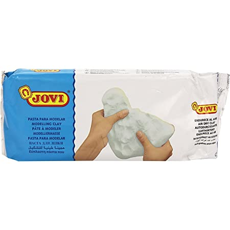 JOVI - Pâte Modeler Autodurcissante Pain art.86 - 1kg - Blanc
