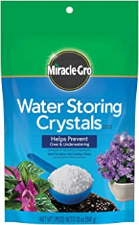 Miracle-Gro Water Storing Crystals, 12-Ounce, Limited edition
