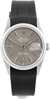 Rolex Datejust Automatic-self-Wind Male Watch 16220 (Certified Pre-Owned)