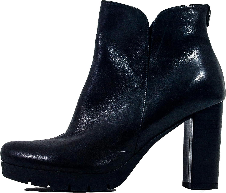 Arka1927 Stiefel XXXIII - Luxus Handgefertigt Rindsleder Stiefeletten Stiefeletten Czerń Damen Classic Designer Abendschuhe  nur für dich
