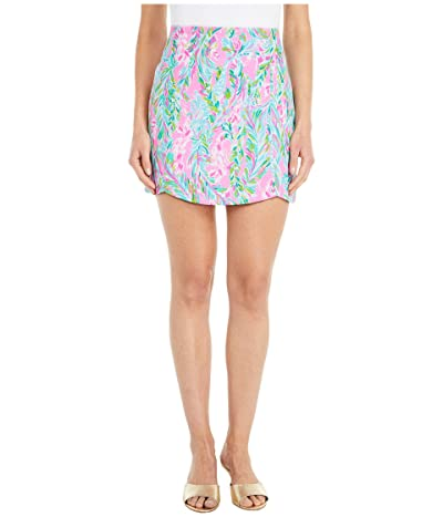 Lilly Pulitzer Becki Skort (Multi Unicorn Of The Sea) Women