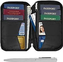 family passport holder for 6