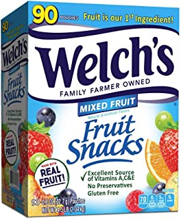Welch's Welchs Mixed Fruit Snacks, 90 ct,, 4.5 Lb ()