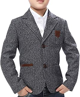 Child Kid Boy Casual Slim Fit Outwear Coat Blazer Jacket