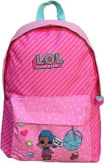 Kids LOL Surprise Bolsa Escolar, 43 cm, Rosa
