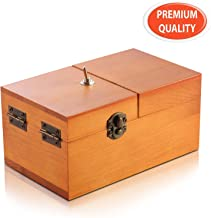 EASTBULL Useless Box Turns Itself Off Box Leave Me Alone Machine Fully Assembled Funny Toys as Gift and for Stress-Release Perfect for Home & Office Desk