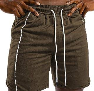 MK988 Men Drawstring Outdoor Gym Workout Skinny Fit Running Shorts