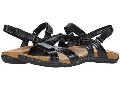 Earth Sand Oahu (Black Eco Calf) Women