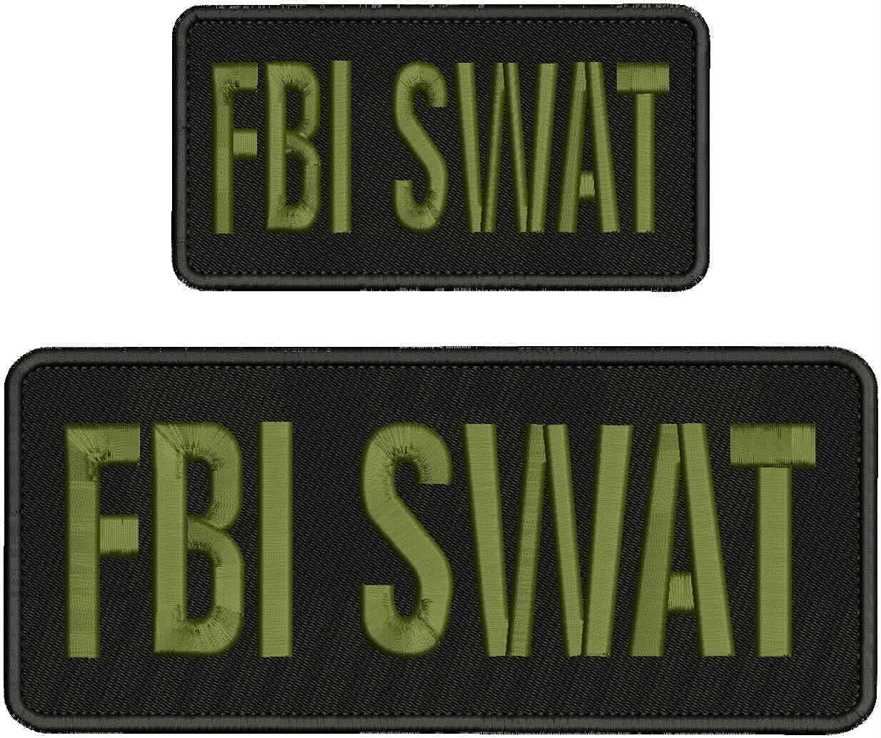 Embroidered Patch Cash special price - Patches for Sales results No. 1 SWAT Man Women FBI