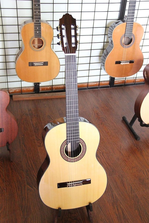 YYYSHOPP Guitarra Guitarra Acústica Clásica Principiante Cuerdas Clásicas De Nylon De 39 Pulgadas De Guitarra Clásica Acústica (Color : Guitar and Case, Size : 39 Inches)