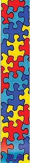 Offray Jigsaw Craft Ribbon, 5/8-Inch x 12-Feet, Blue, 5/8 Inch