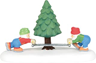 Department 56 North Pole Series They Came, They Sawed Figurine