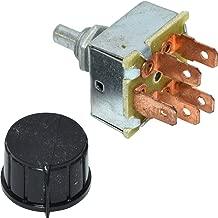 Rotary AC AIR Conditioning 3 Speed Blower Switch Universal 'INDAK'