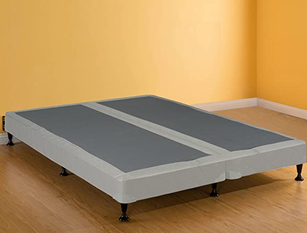 GREATON Fully Assembled Long Lasting 4 Inch Split Box Spring Foundation For Mattress Queen Size