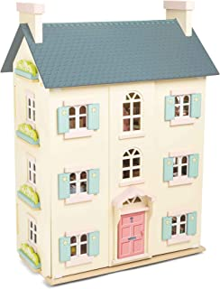 Le Toy Van Daisylane Collection Cherry Tree Hall Dollhouse Premium Wooden Toys for Kids Ages 3 Years & Up, Model:H150