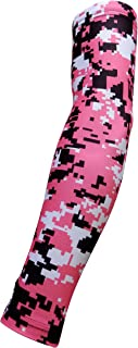 Sports Farm Youth & Adult Sizes Moisture Wicking Compression Arm Sleeve (1 Sleeve) (Over 100 Colors Available In Our Store)