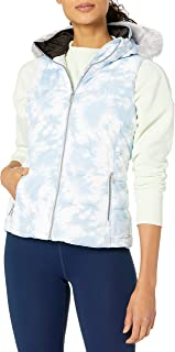 Calvin Klein Women's Polyfill Printed Puffer Vest, Tie Dye