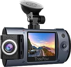 Dash Cam, Trekpow T1 HD 1080P Car DVR Dashboard Camera with 180°Rotation Len, 2