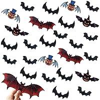 Halloween Bat Decorations Party Supplies 120 PCS 3D Deals