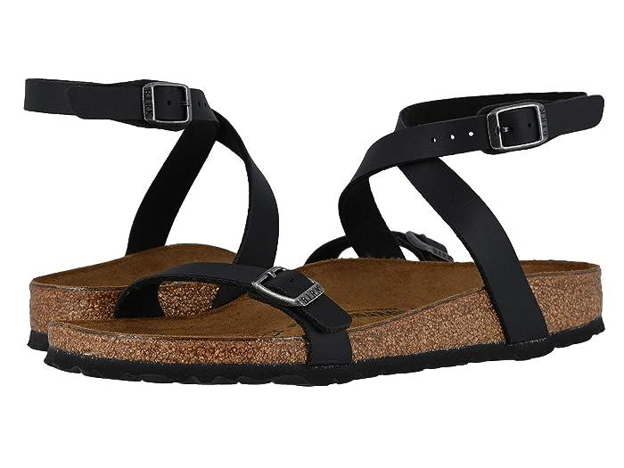 Birkenstock  Daloa (Black) Womens Dress Sandals