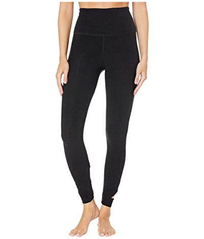 Beyond Yoga Spacedye Set The Bar High-Waisted Midi Leggings (Darkest Night) Women