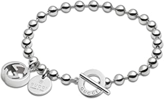 dcf12bb2d GUCCI Bracciale boule argento 925 nuovo cm 18 YBA390954001018