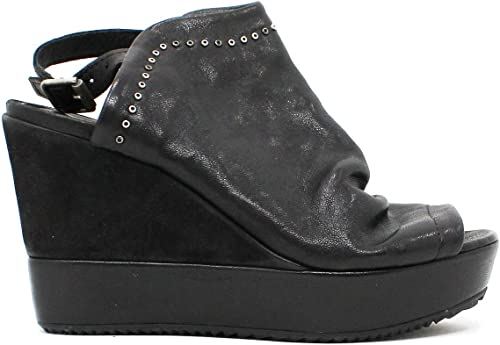 Il Laccio , , Sandales pour Femme Noir Noir  achats de mode en ligne